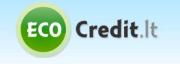 ecocredit pirmas kreditas nemokamai
